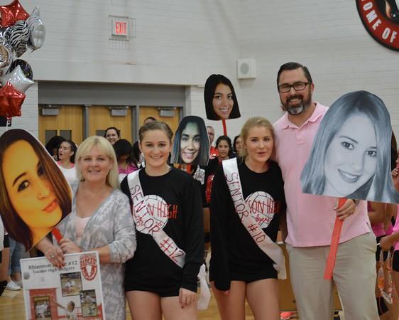 2015 Tucson girls Volleyball senior night